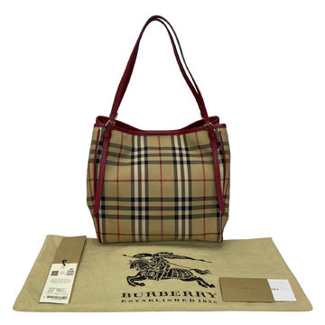 Bolsa Burberry Horseferry Check Canterburry