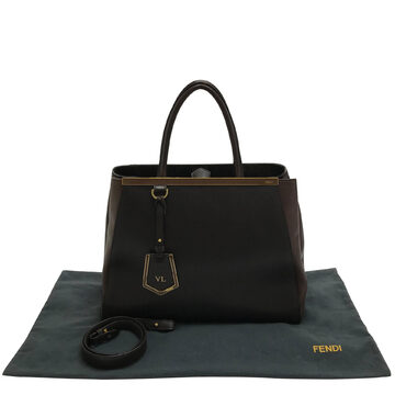 Bolsa Fendi 2Jours Medium Marrom