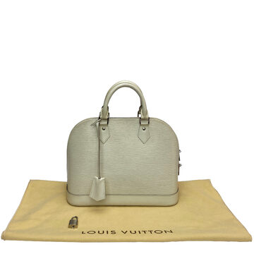 Bolsa Louis Vuitton Alma PM Epi Off White