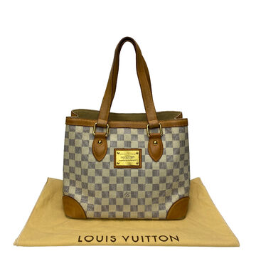 Bolsa Louis Vuitton Hampstead PM Damier Azur