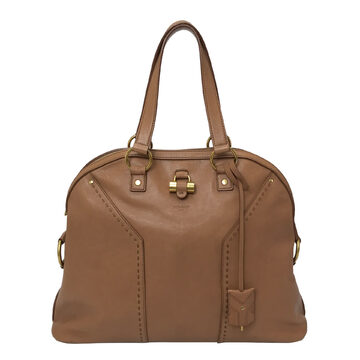 Bolsa Yves Saint Laurent Muse Caramelo