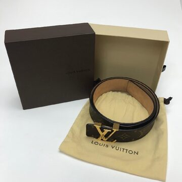 Cinto Louis Vuitton Initiales Monogram 40 mm
